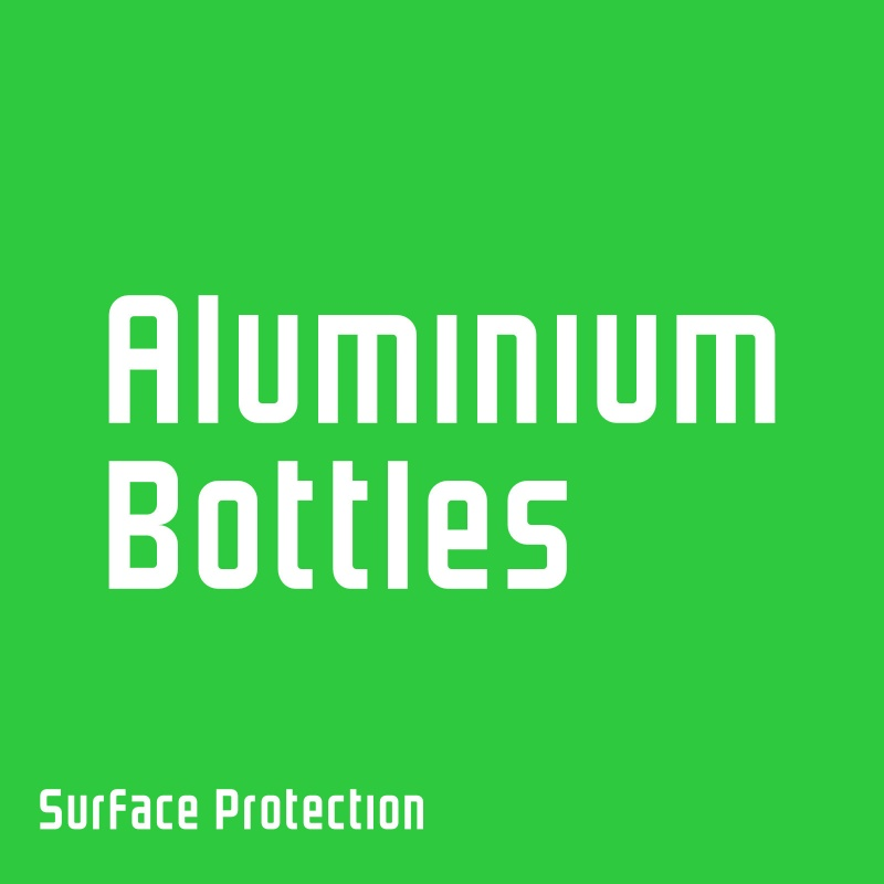 Aluminium Dispensing Bottles (Empty)