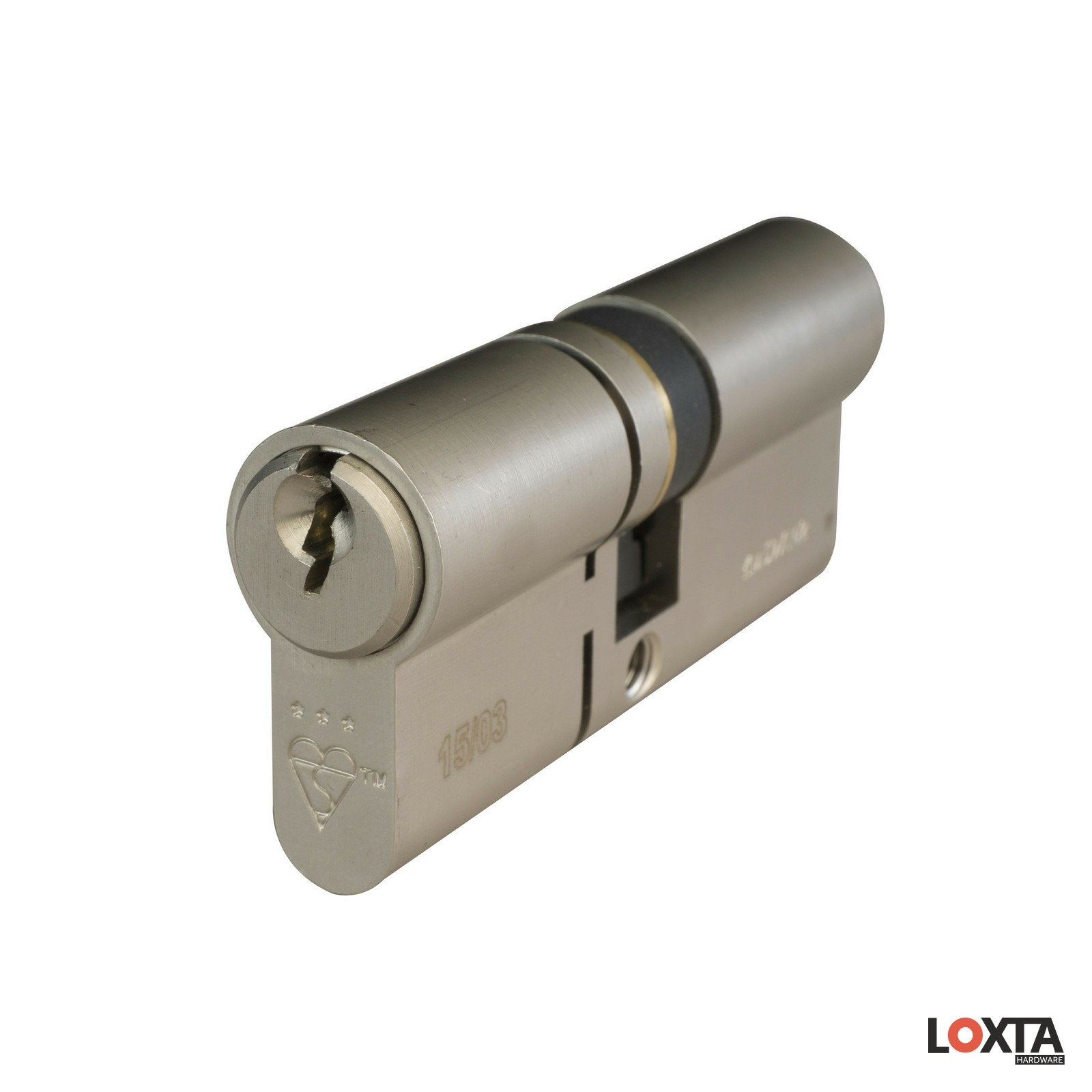 KT10099 3 Star High Security Euro Cylinder, Double, TS007*** + Kitemarked