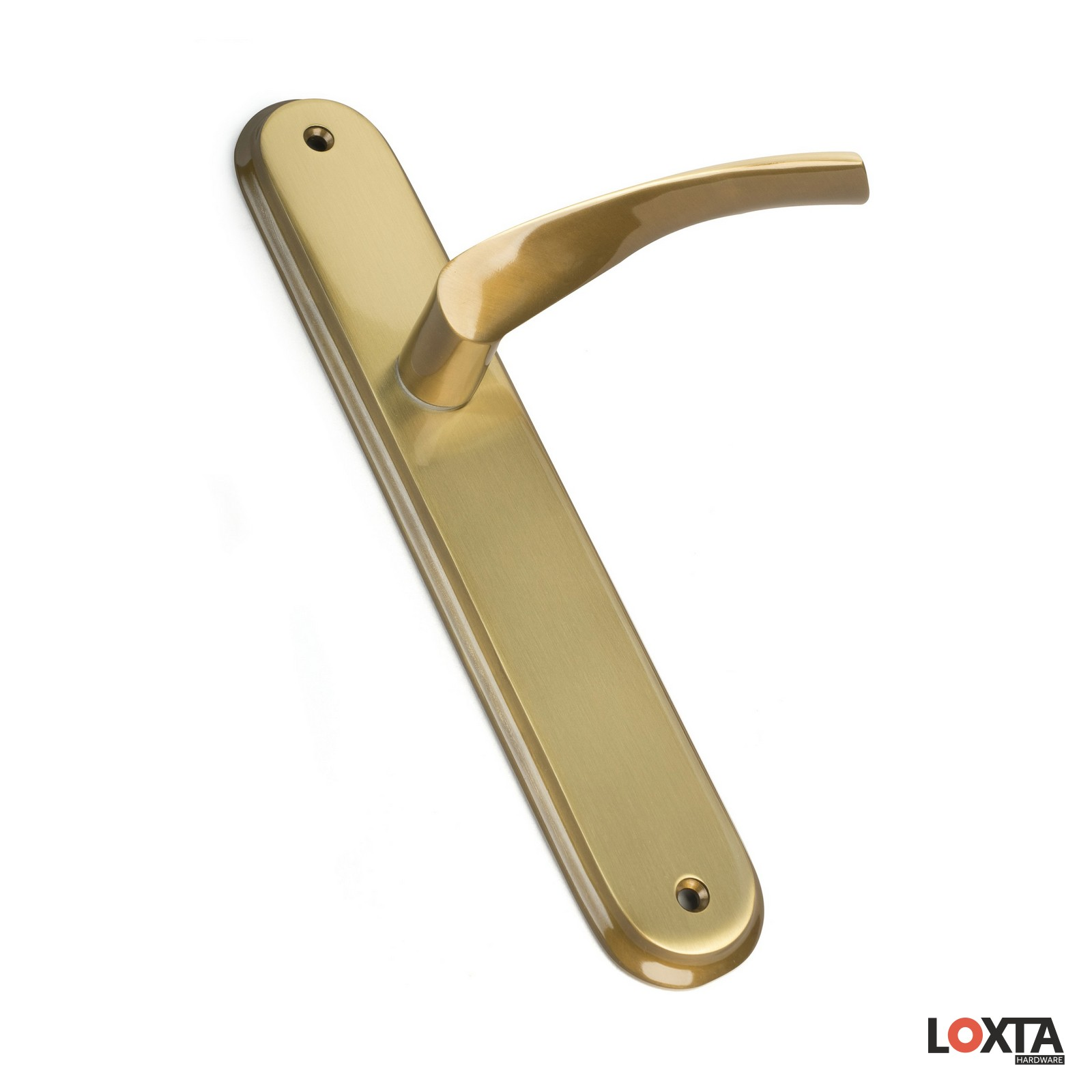 MY25011 Duke Premium Designer Lever on Long Oval Backplate LH/LK/BR/EU