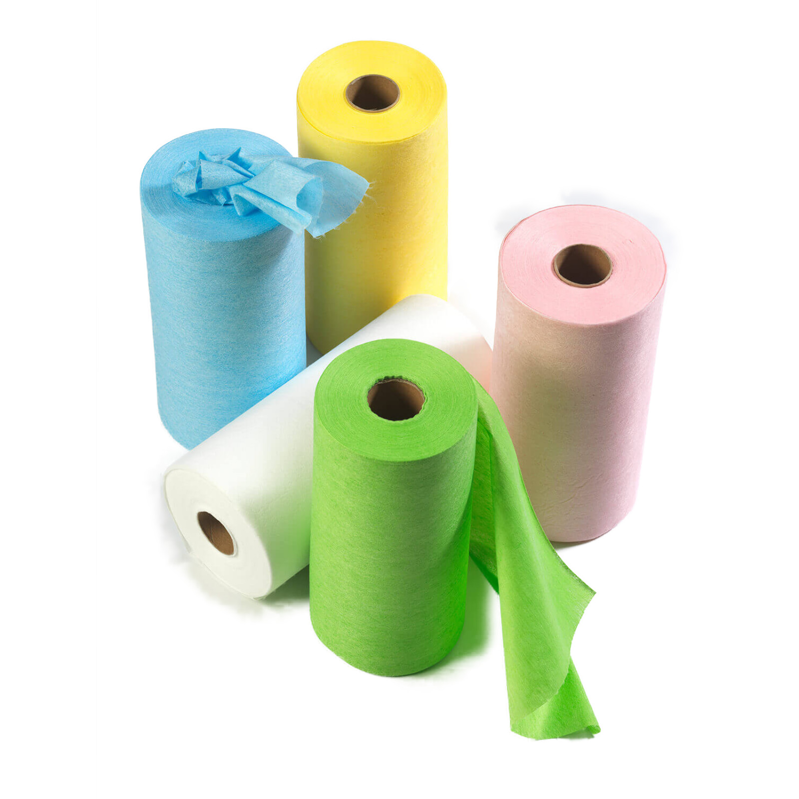 Disposable Microfibre Wipes - Roll x 125